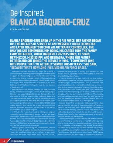 Page 42 of BE INSPIRED: BLANCA BAQUERO-CRUZ