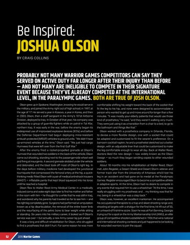 Page 54 of BE INSPIRED: JOSHUA OLSON