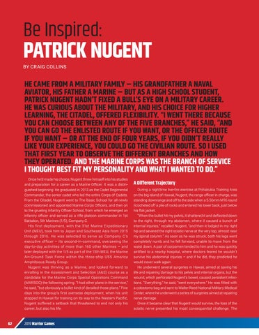 Page 64 of BE INSPIRED: PATRICK NUGENT