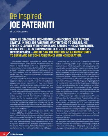 Page 74 of BE INSPIRED: JOE PATERNITI