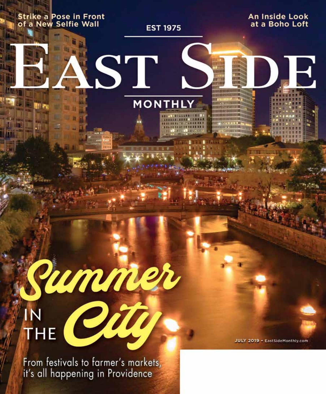 East Side Monthly July 2019 by Providence Media - issuu