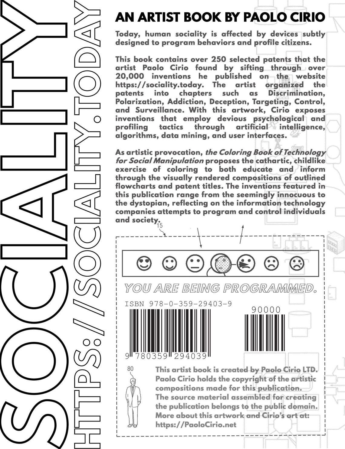 SOCIALITY, the Coloring Book of Technology for Social