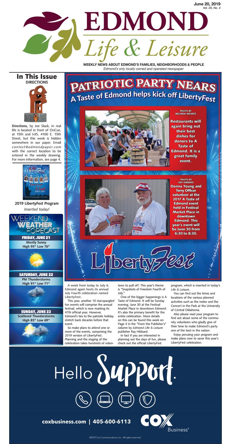June 20, 2019 by Edmond Life and Leisure - issuu