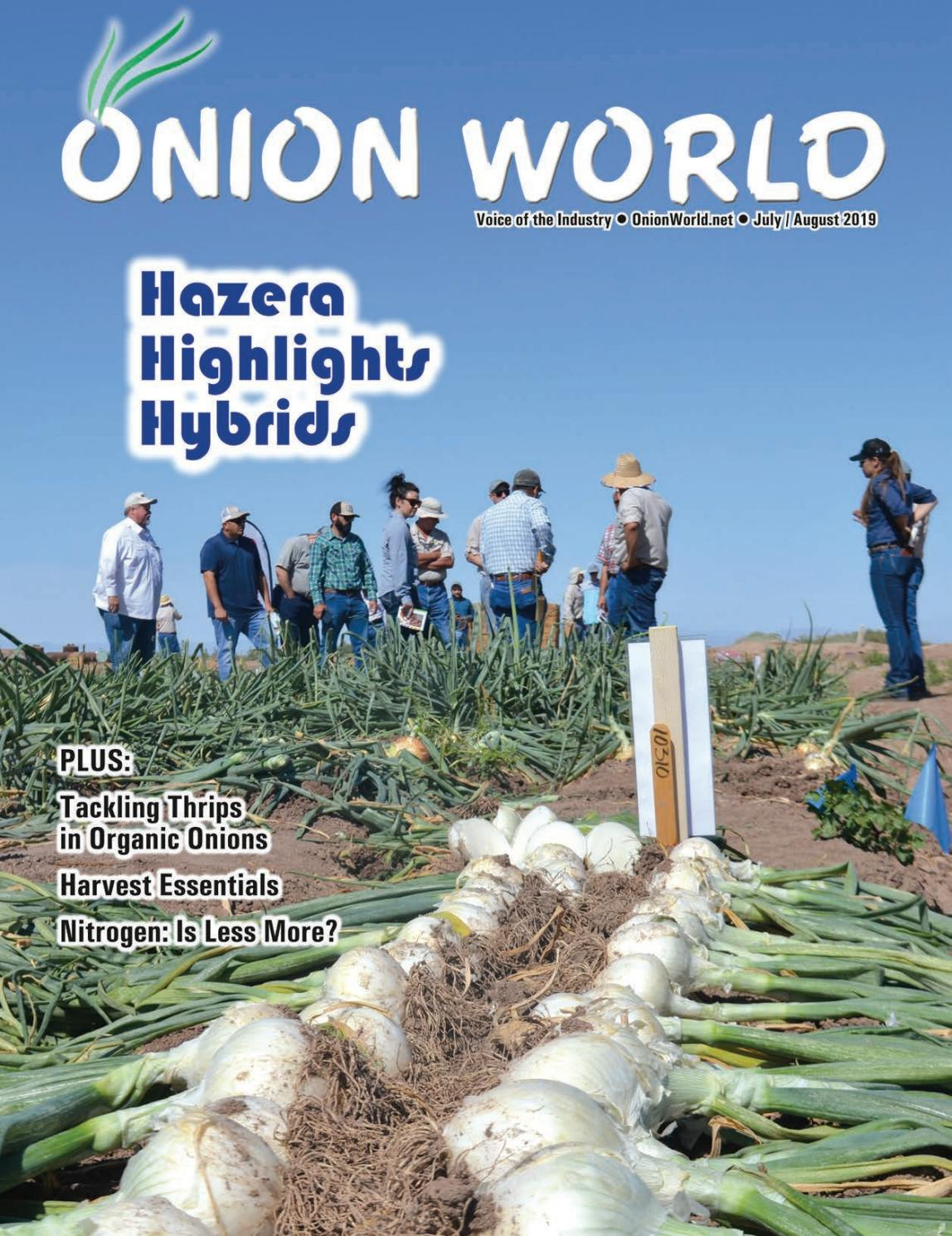 Onion World July/August 2019 by Columbia Media Group - issuu