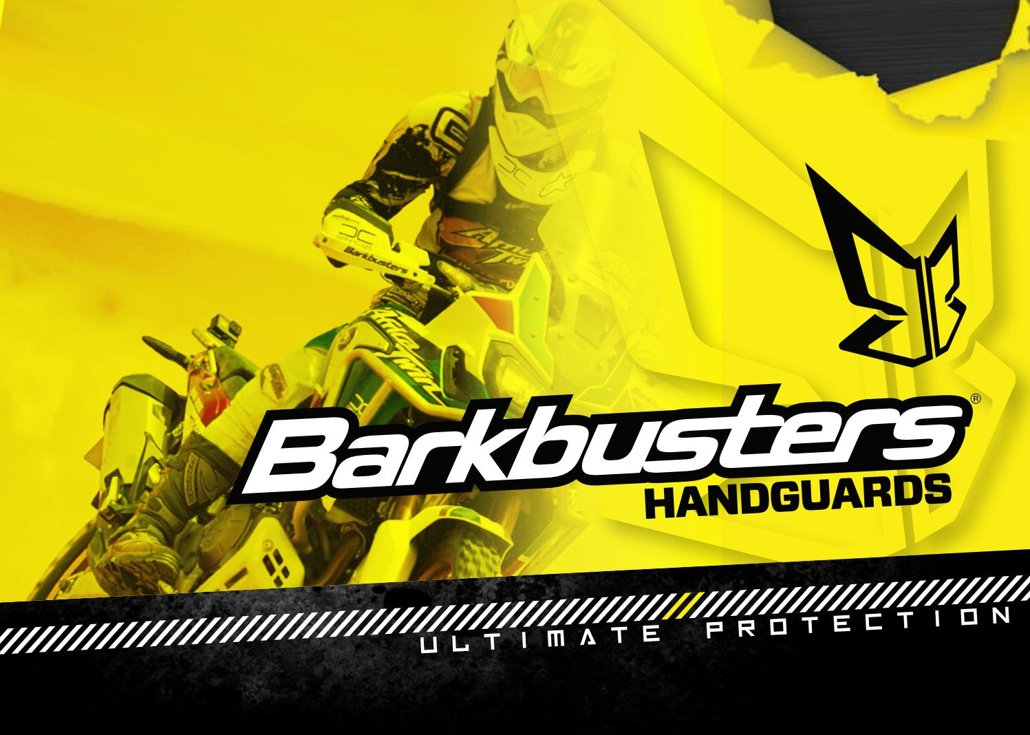 "Barkbusters NEW Mx JET Blue Hand Guards 7//8/"" Bars Motocross Enduro Handguards"