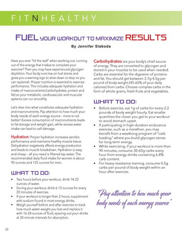 Page 34 of The Macros you Need to Maximize Workout Results