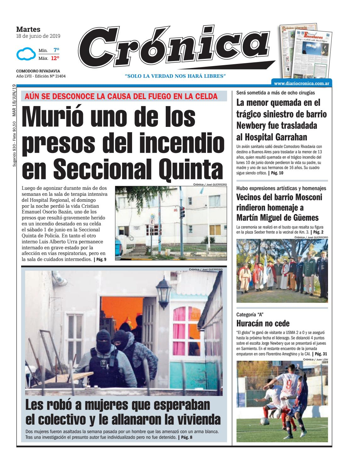 be9b38ef553 Diario cronica 18 06 2019 by Diario Crónica - issuu