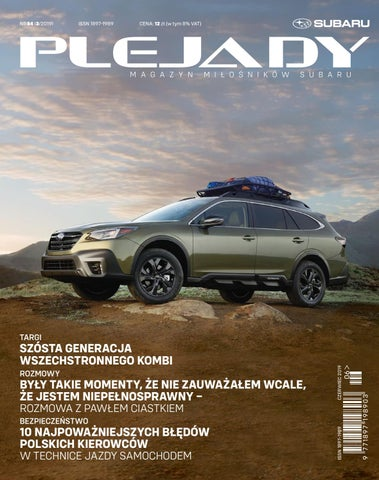 Magazyn Miłośników Subaru Plejady Nr 84 By Magazyn