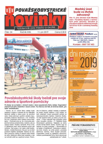 7991b696c Považskobystrické novinky č. 24/2019 by Považskobystrické novinky ...