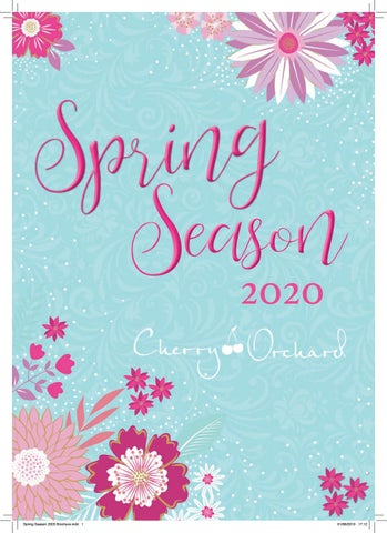 Spring Begins 2020.Spring Seasons 2020 Greetings Cards By Cherry Orchard
