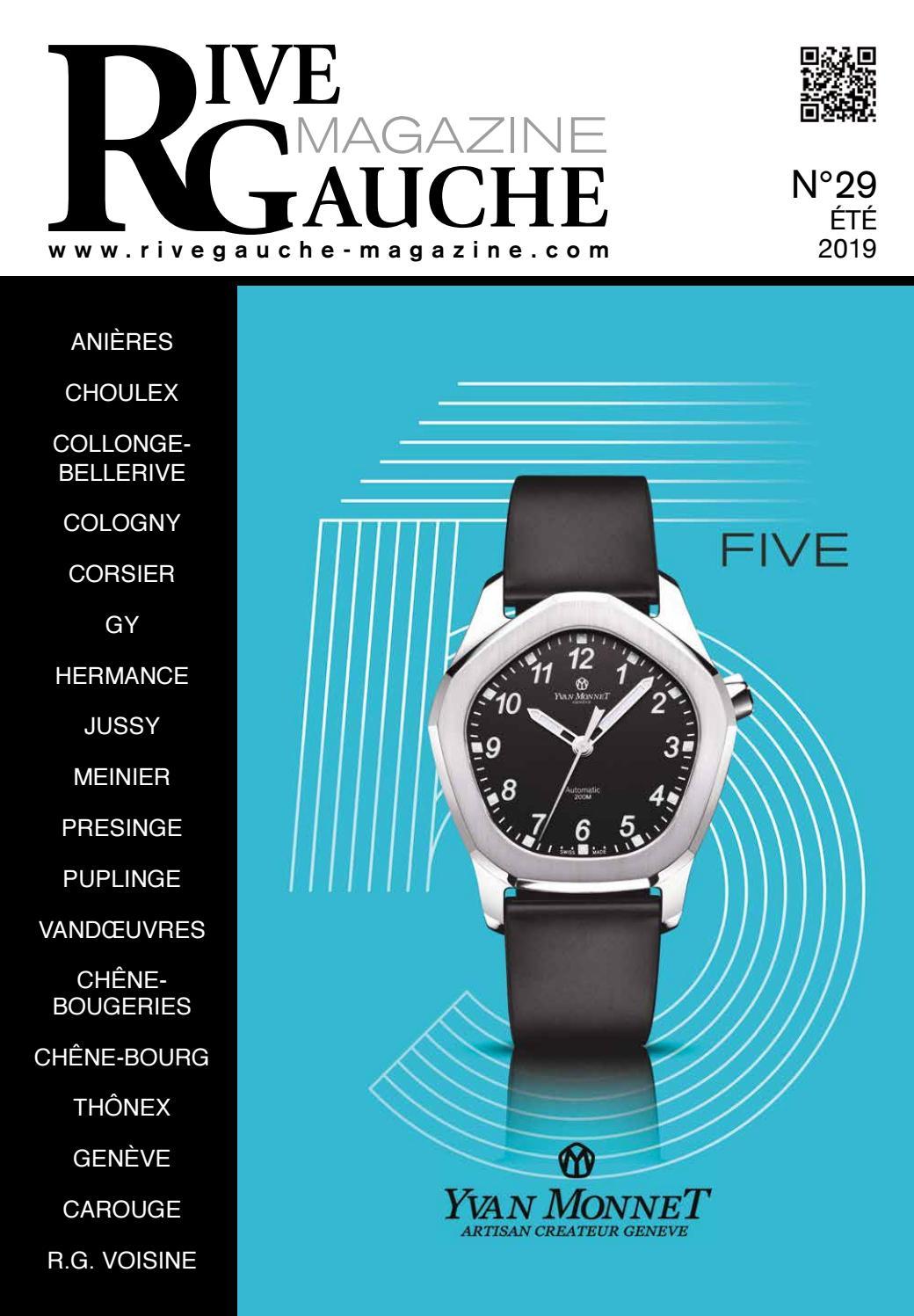 Gauche Issuu N°29 Rive By Magazine Daniel xoQCWreEdB
