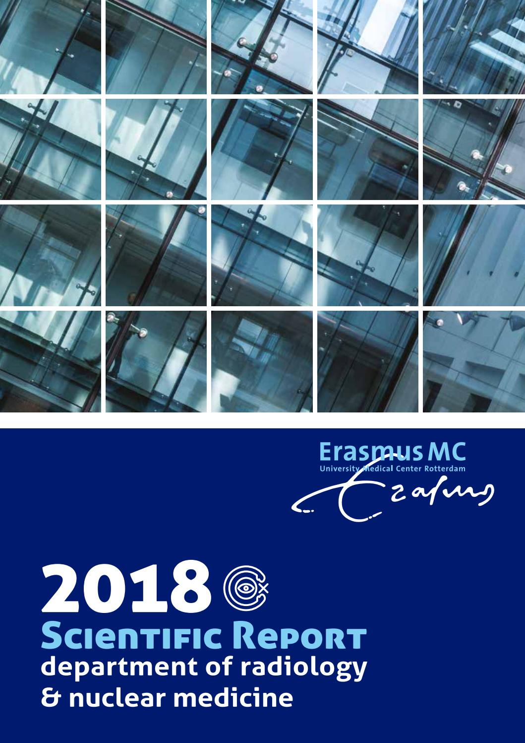 Scientic Report 2018 By Erasmus Mc Dept Of Radiology Nuclear Medicine Issuu