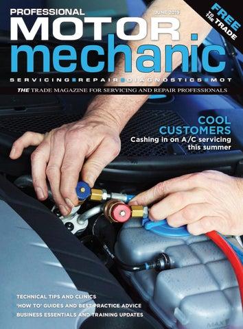Professional Motor Mechanic June 2019 by Hamerville Media