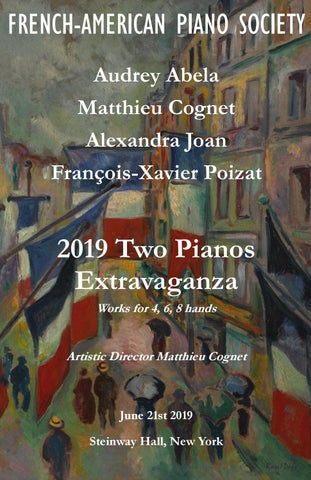 2019 Two Piano Extravaganza by French-American Piano Society