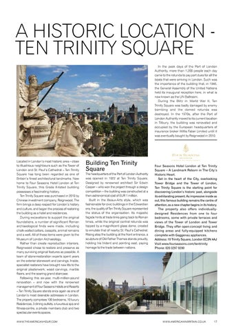 Page 19 of A Historic Location - Ten Trinity Square