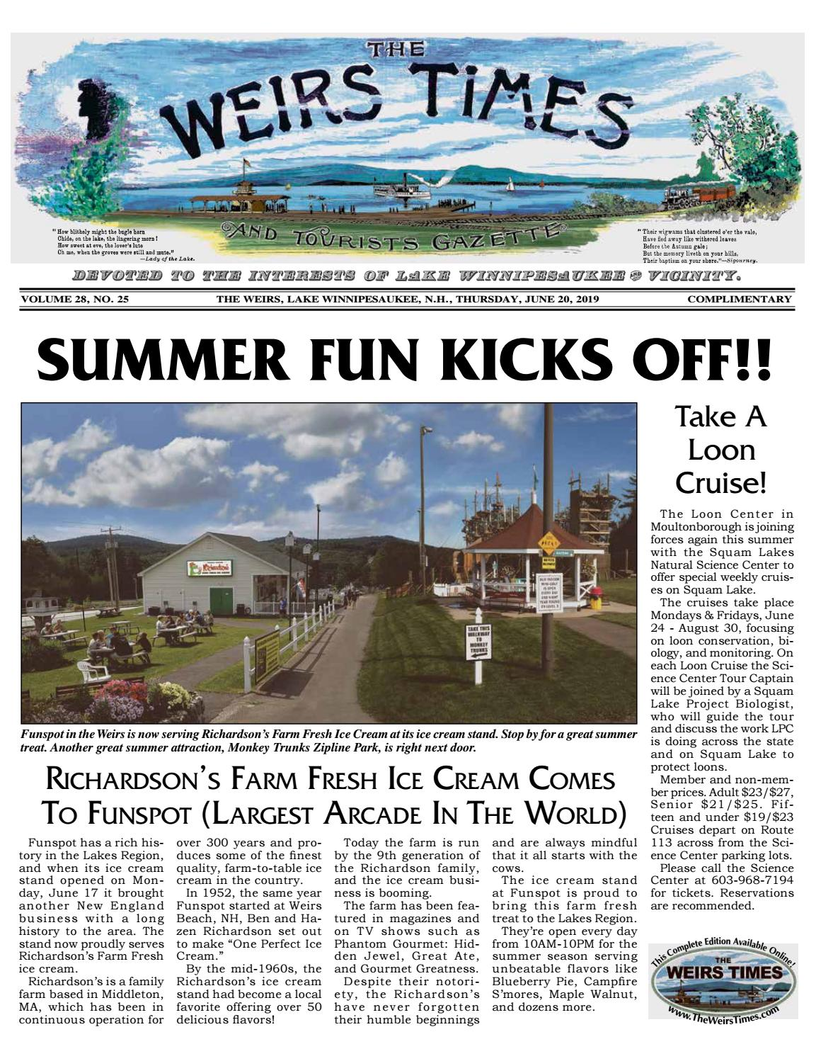 06/20/19 Weirs Times by The Weirs Publishing Company - issuu
