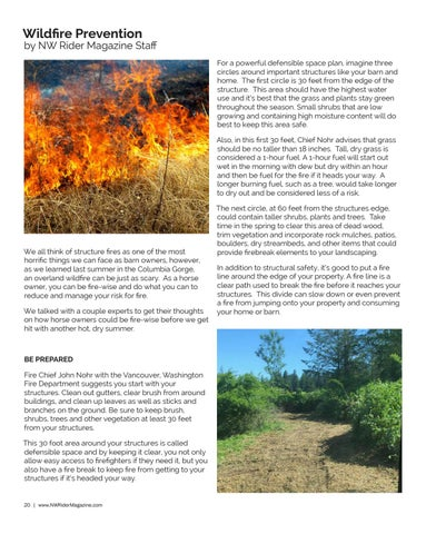 Page 20 of Wildfire Prevention
