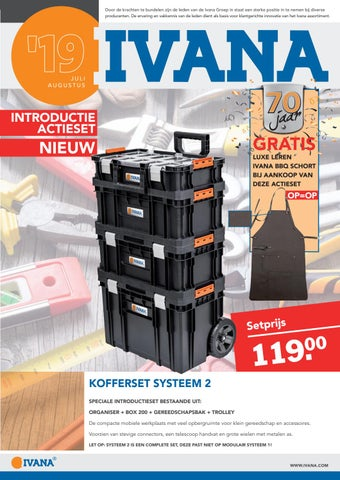 Verwonderlijk IVANA bulletin juli-augustus 2019 by Ivana - issuu JH-26