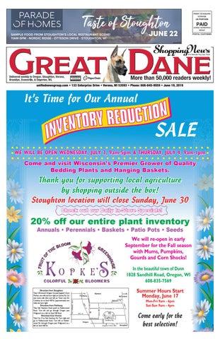 6/19/19 Great Dane Shopping News by Woodward Community Media