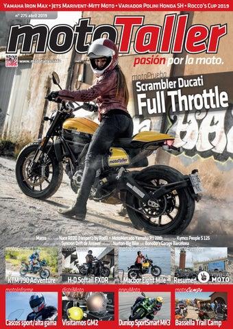 6013c296a6b Yamaha Iron Max • Jets Marivent-Mitt Moto • Variador Polini Honda SH •  Rocco's Cup 2019 nº 275 abril 2019