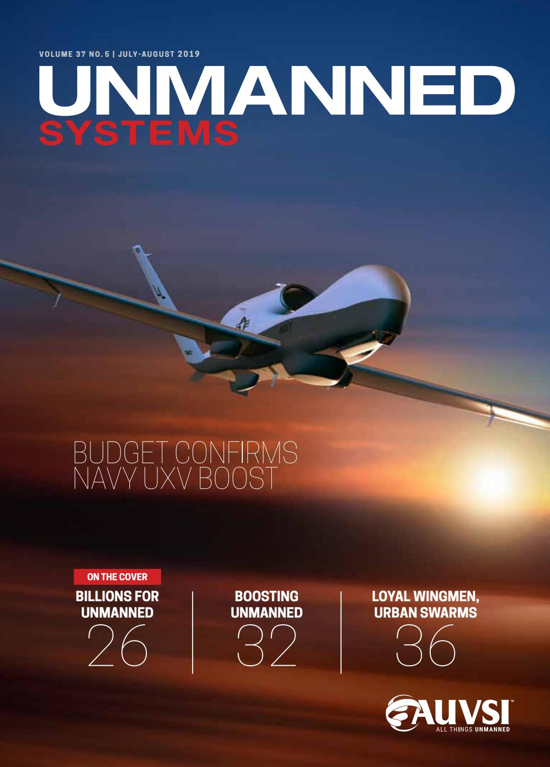 AUVSI's Unmanned Systems magazine — July-August 2019 by AUVSI Unmanned  Systems magazine - issuu