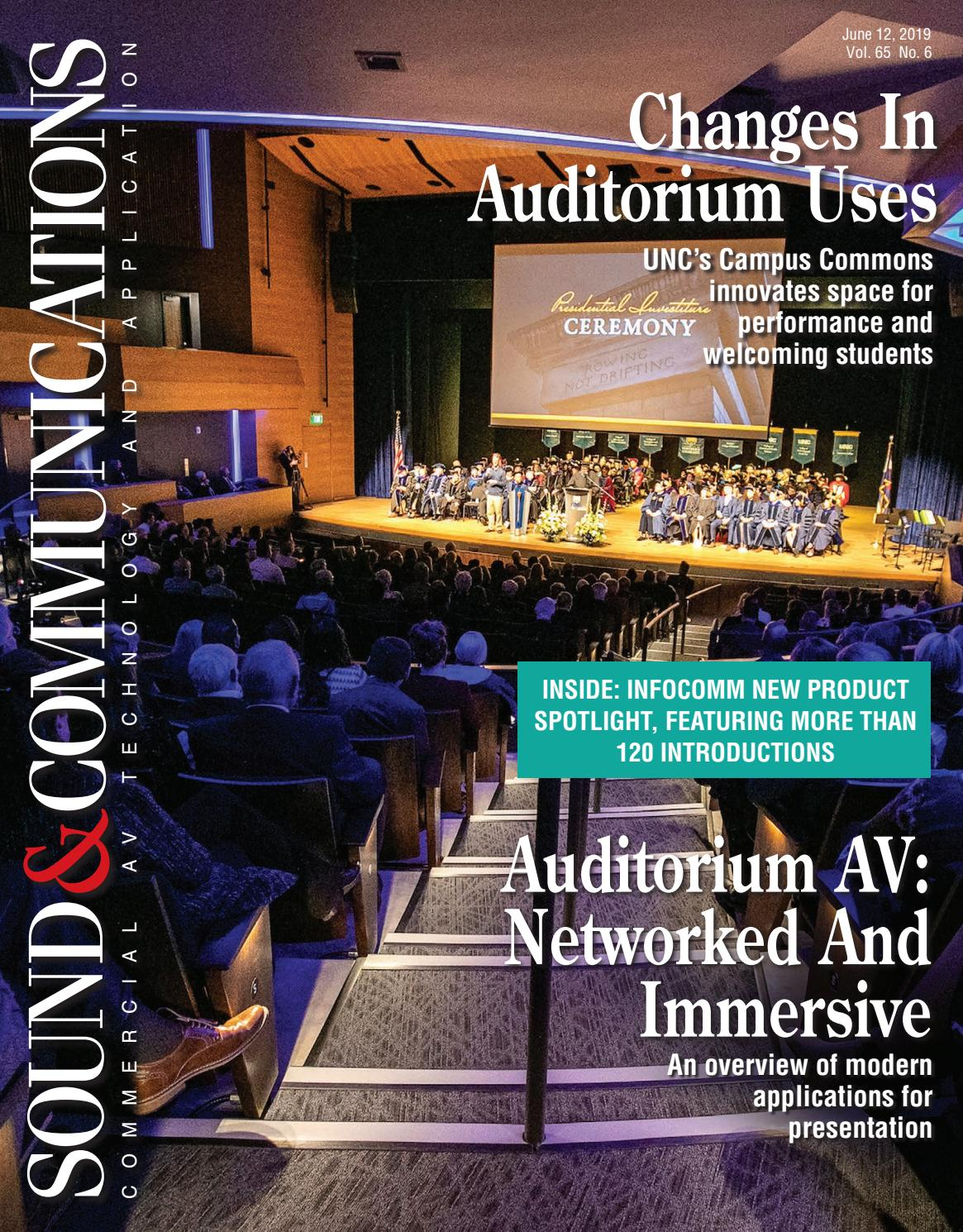 Sound & Communications June 2019, Vol 65 No 6 by Sound