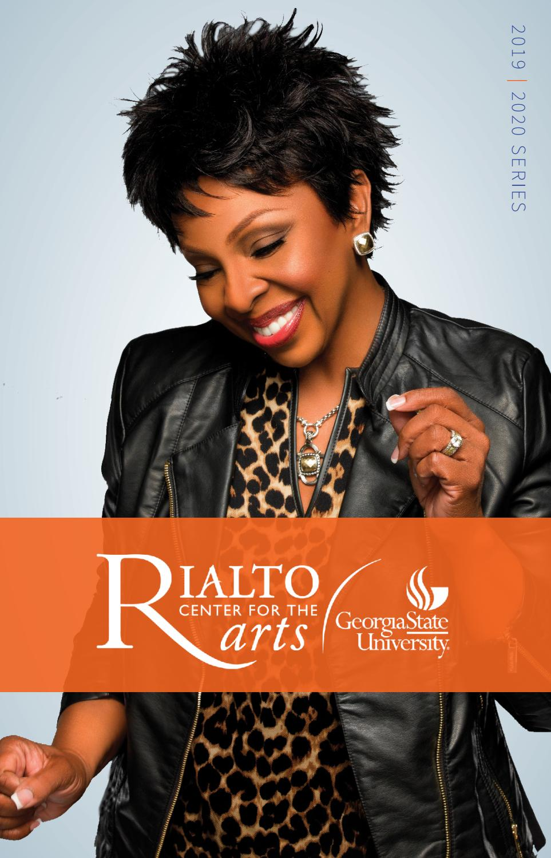 Georgia State Summer Classes 2020.2019 2020 Rialto Series Brochure By Rialto Center For The