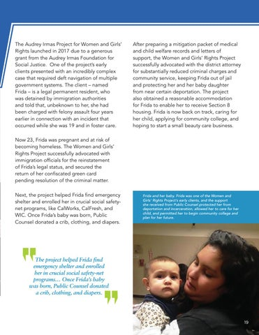 Page 21 of Keeping Mothers and Children Together Through Holistic Support