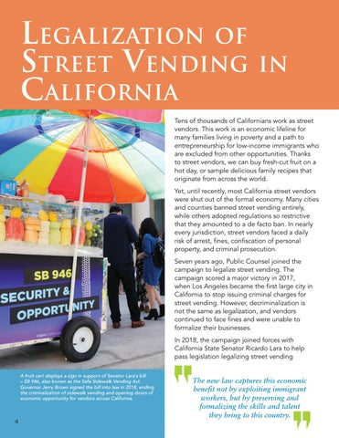 Page 6 of Legalization of Street Vending in California