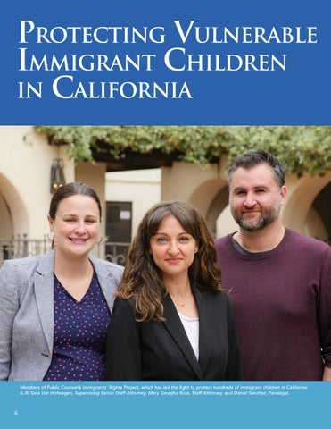 Page 8 of Protecting Vulnerable Immigrant Children in California