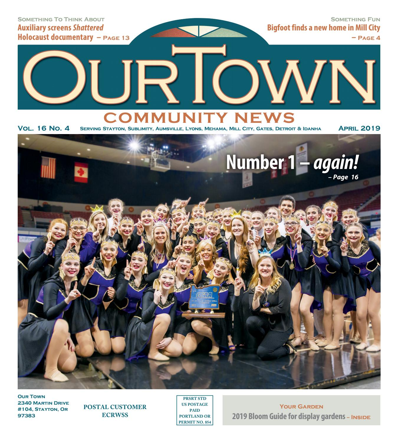Our Town Santiam: April 01, 2019 by MAP Publications - issuu