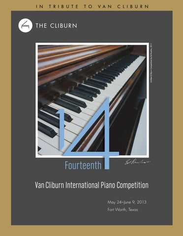 Fourteenth Van Cliburn International Piano Competition