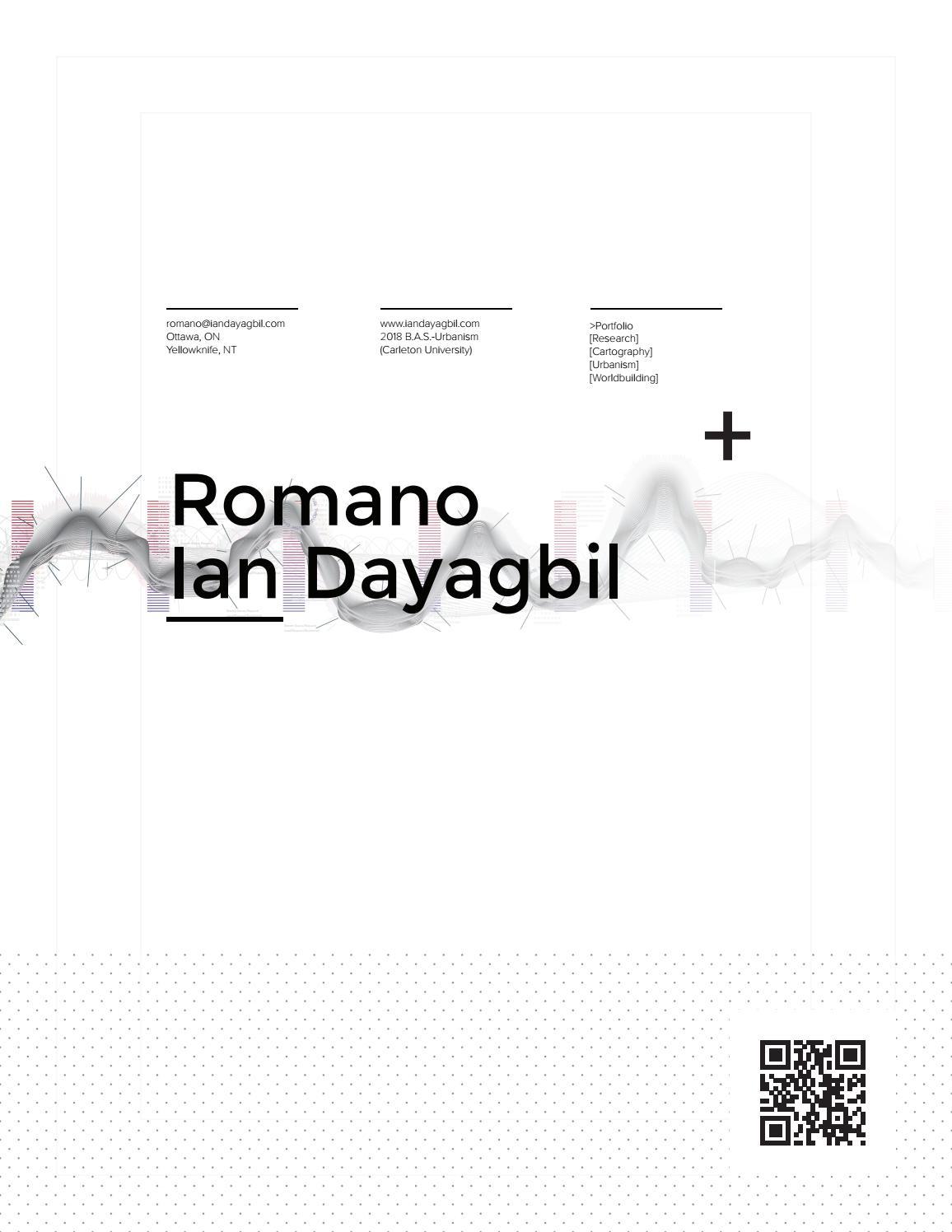 Urbanism Portfolio 2019 - R  Ian Dayagbil by Ian Dayagbil - issuu