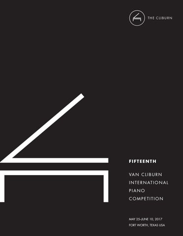 Fifteenth Van Cliburn International Piano Competition