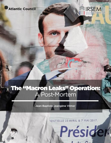 The #Macron Leaks Operation: A Post-Mortem by Atlantic