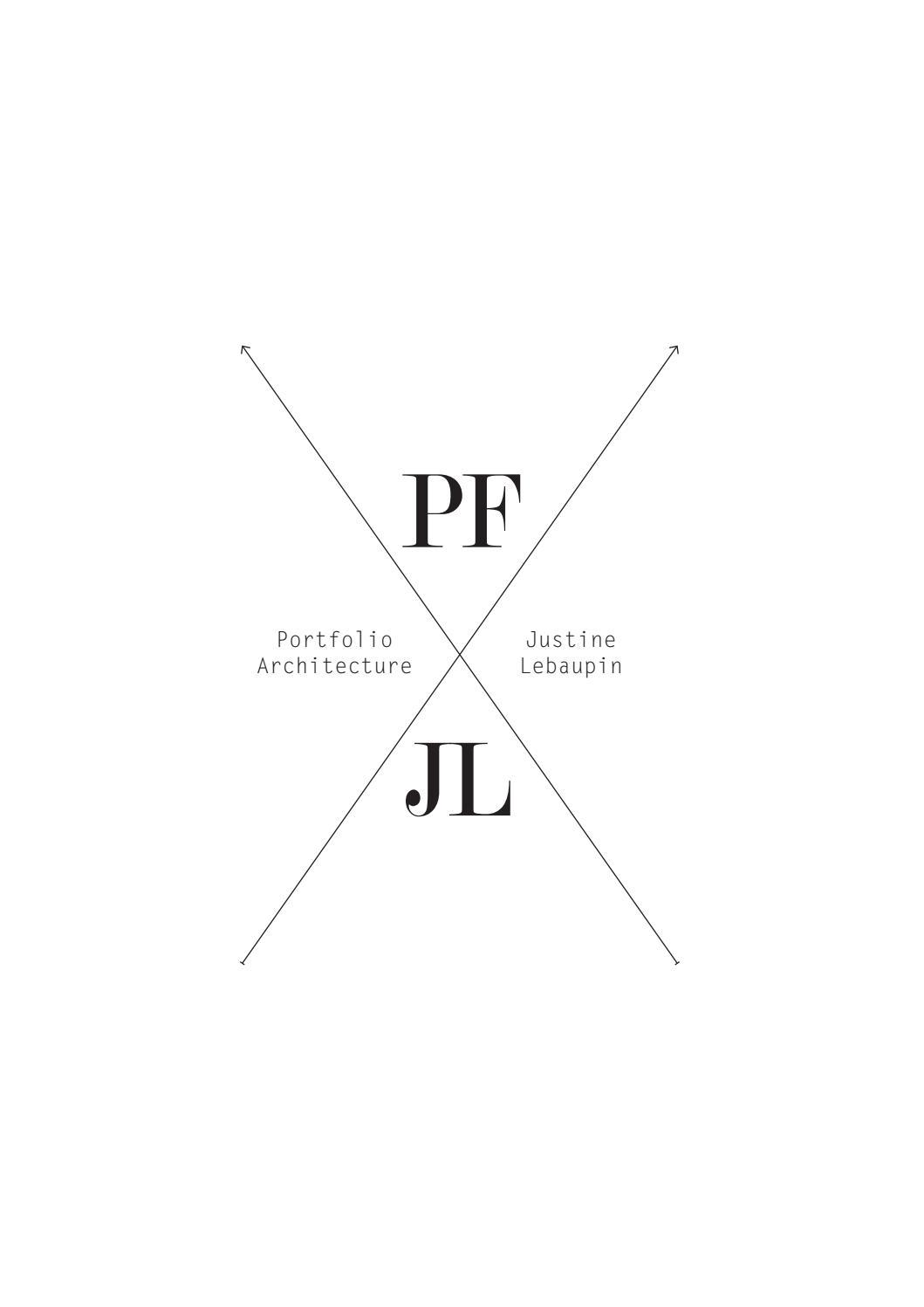 portfolio - justine lebaupin by justine lebaupin