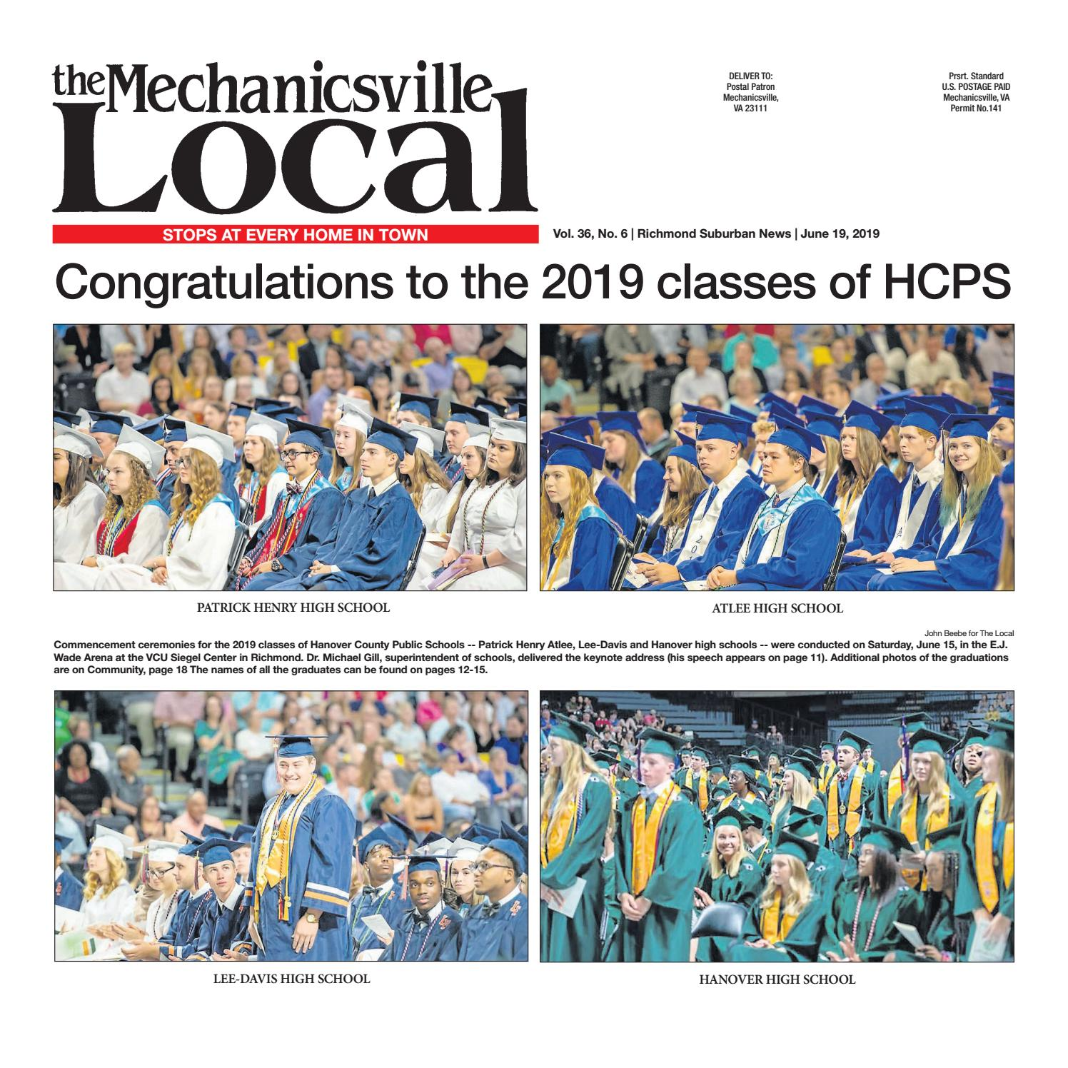 06/19/2019 by The Mechanicsville Local - issuu