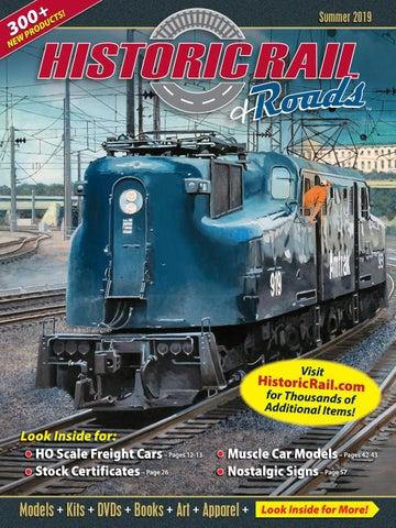 Historic Rail Summer 2019 Catalog by Historic Sales - issuu