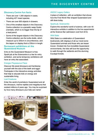 Page 33 of Discovery Centre Queensland Museum