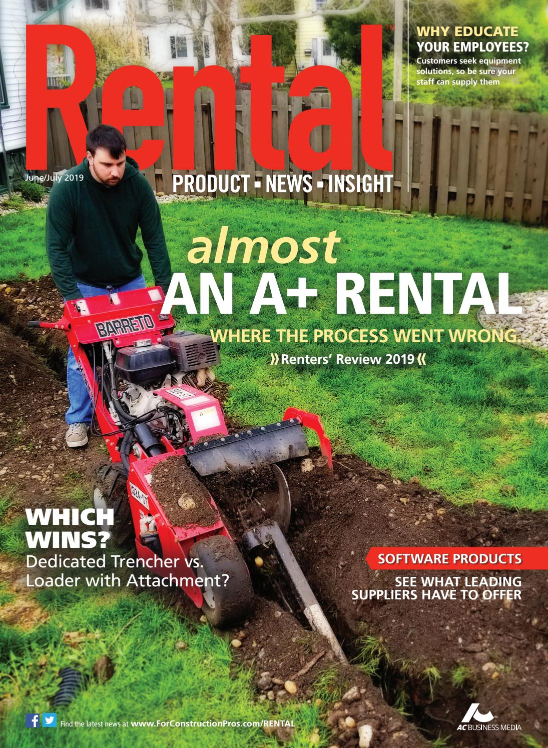 Rental June/July 2019 by ForConstructionPros com - issuu