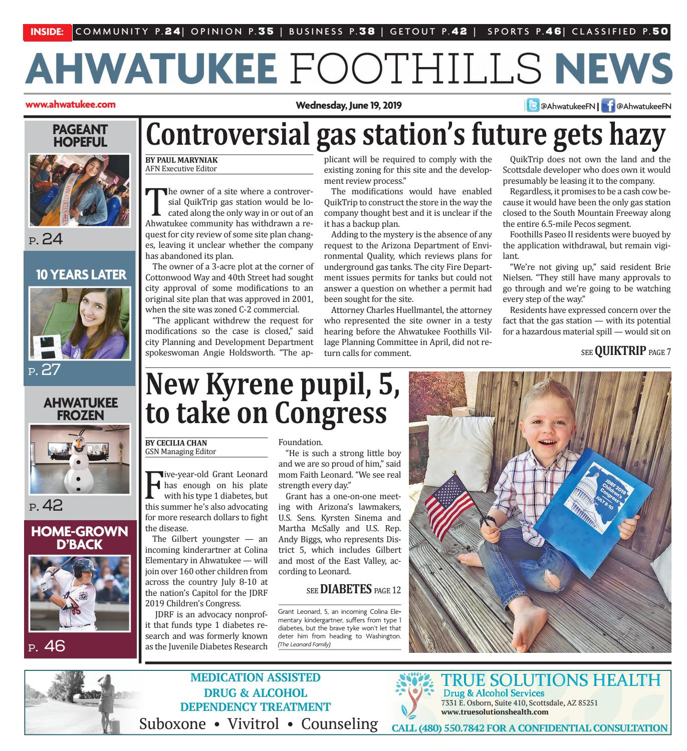 Ahwatukee Foothills News - June 19, 2019 by Times Media