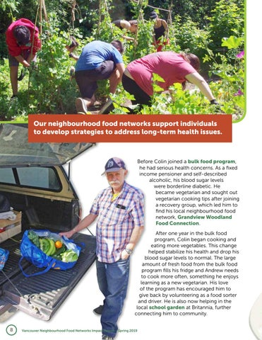 Page 8 of Healthy Neighbours: Colin's story