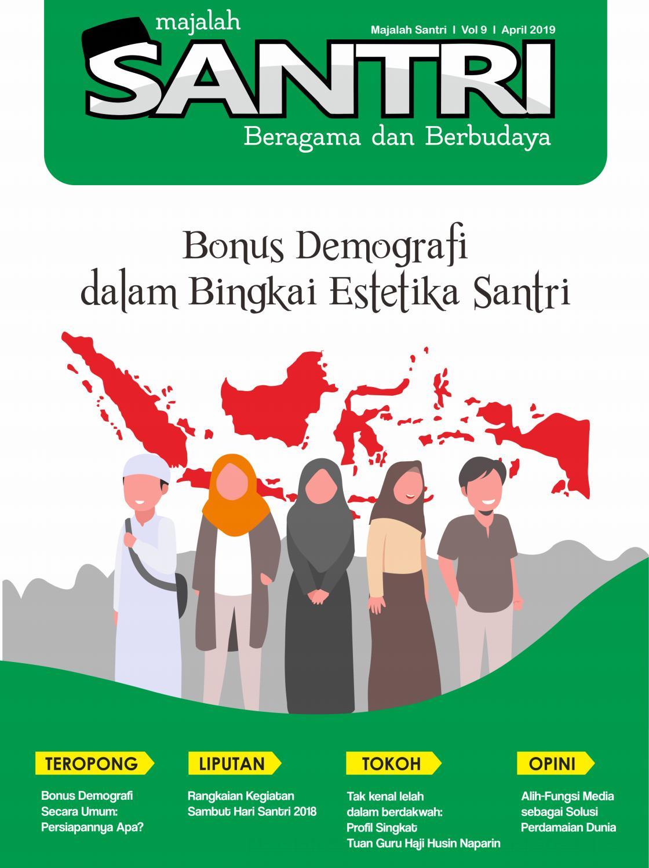 Bahasa Arab Selamat Hari Santri Majalah Santri Vol 9 By Majalah Santri Issuu