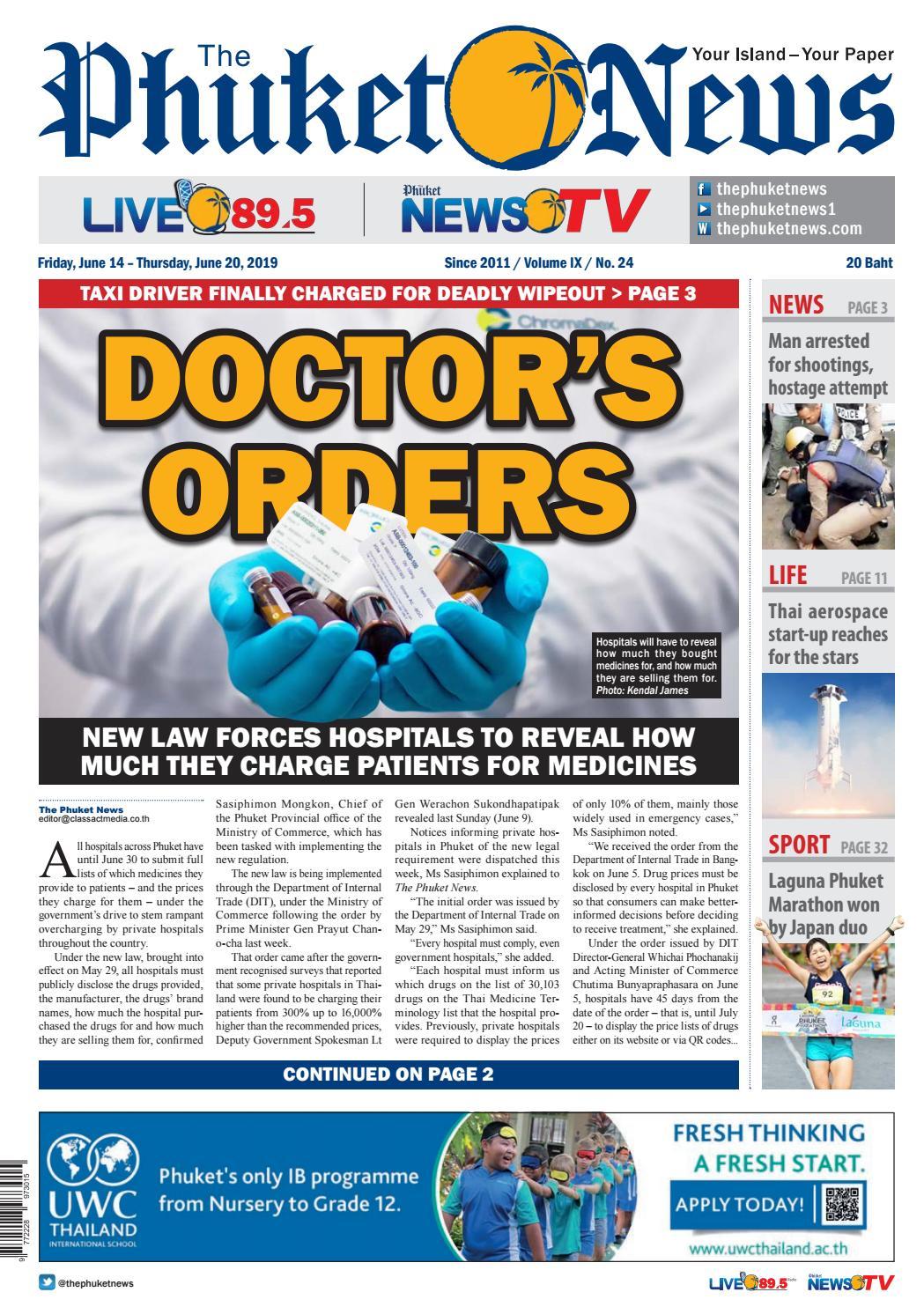 The Phuket News June 14, 2019 by The Phuket News - issuu