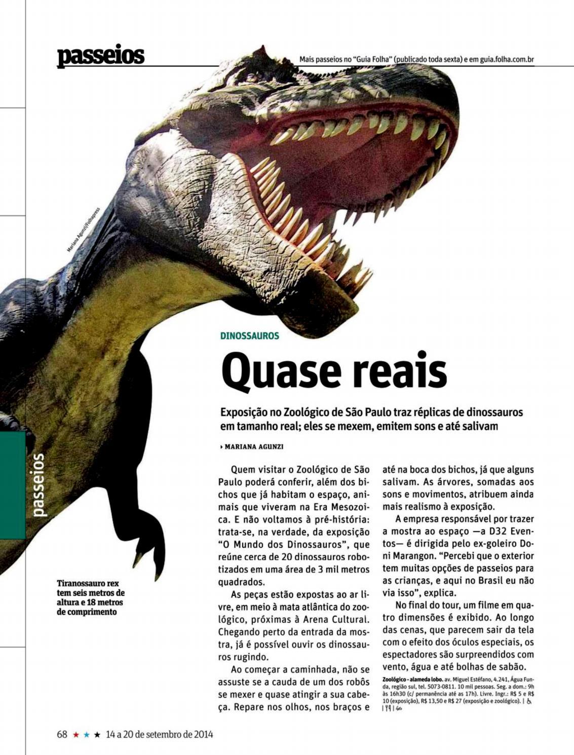 Folha De Sao Paulo Setembro 2014 Quase Reais By Incriveis