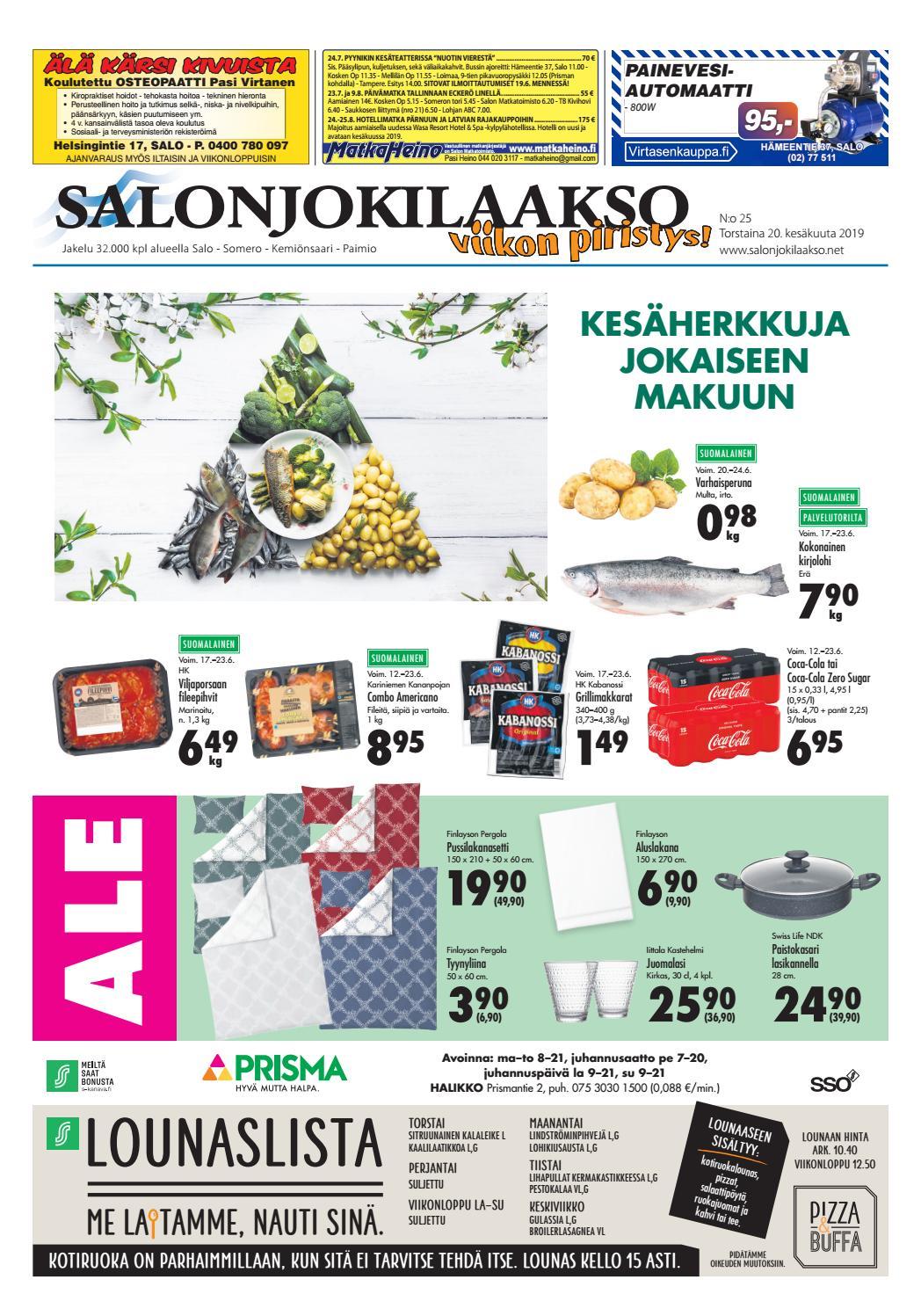 Salonjokilaakso vko 25 2019 by Salonjokilaakso lehti - issuu
