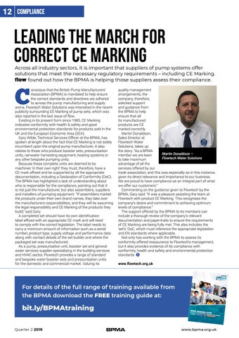 Page 12 of Leading the march for correct CE Marking