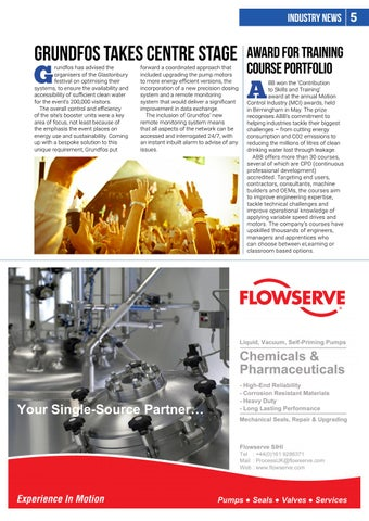 Page 5 of Pump Industry News