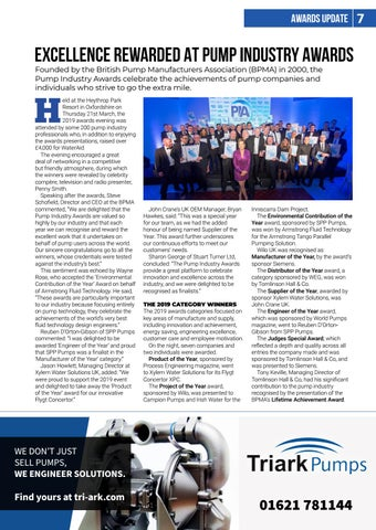 Page 7 of Pump Industry Awards winners