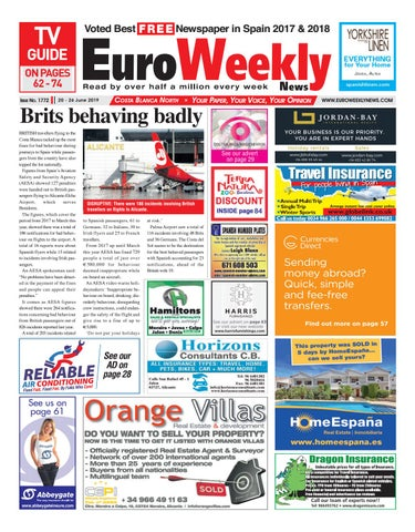 14e1c9954 Euro Weekly News - Costa Blanca North 20 - 26 June 2019 Issue 1772 ...
